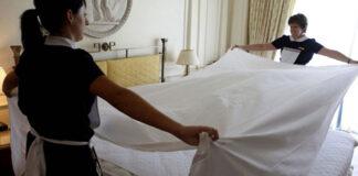 mucama empleada de limpieza para hotel personal de limpieza femenino hotel cleaning maid female cleaning staff