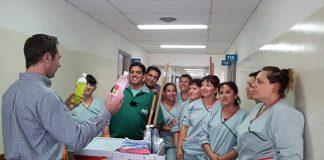 Mucama para sanatorio Maid for sanatorium female and male staff for sanatorium