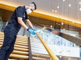 conserje janitors portero personal para empresa de servicios staff for service company