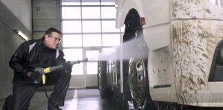 lavador de camiones truck washer personal masculino para lavado de camiones