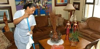 maid empleada domestica empleada del hogar empleada para limpieza en casa de familia domestic worker domestic employee employed for cleaning in family home