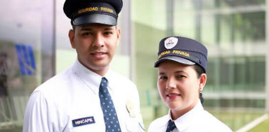 personal de seguridad femenino y masculino female and male security personnel vigilante de seguridad hombres y mujeres vigiladora vigilador