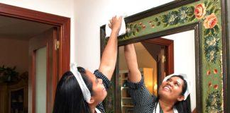Empleada Domestica empleada del hogar limpieza y cuidado de niños en casa de familia nanny babysitter domestic staff maid
