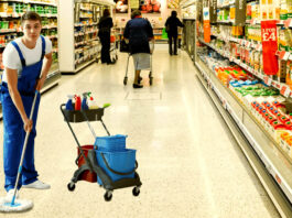 cleaning staff limpieza de supermercado supermarket cleaning limpiadores male cleaning staff