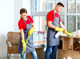 personal para limpieza de casas grandes staff for cleaning large houses female and male cleaning staff