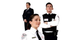vigilante de seguridad femenino y masculino female and male security guard watchman vigilante de seguridad femenino y masculino