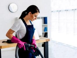 Empleada Para Empresas de Servicios de Limpieza Employed For Cleaning Services Companies