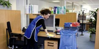 empleada para limpieza de oficinas employed for office cleaning limpiadoras limpieza medio tiempo
