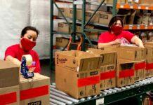 empleadas de empaquetado empacadoras packers in warehouse staff packers personal femenino para fabrica warehouse operator moza de almacen