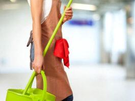 auxiliar de limpieza cleaning asistant