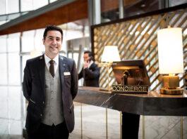 conserje para hotel concierge