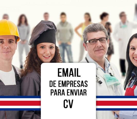 correos de empresas en costa rica para enviar cv