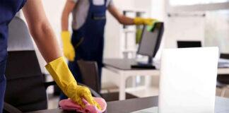 limpieza en oficina cleaning oficce