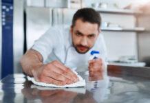limpieza de panaderia cleaning