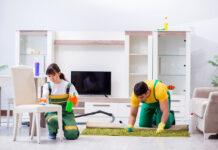 empleados de limpieza de oficinas cleaning