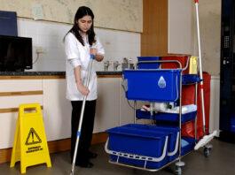 limpieza en geriatrico cleaning