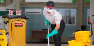operaria de limpieza industrial cleaning operator industrial cleaning limpieza de oficinas, bodegas y planta de produccion