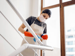 empleada de limpieza mucama personal domestica cleaning maid domestic staff housekeeper empleada del hogar