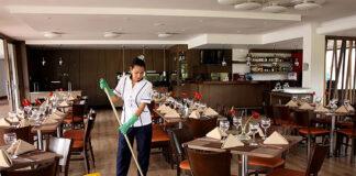 limpieza en restaurante cleaning in restaurant