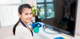 empleada de limpieza para el hogar cleaning in home