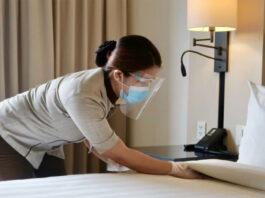 empleada de limpieza en hotel hotel cleaning employee