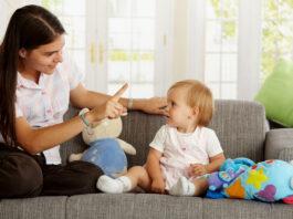 niñera para bebe babysitter for baby care