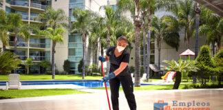 personal de limpieza condominio residencial cleaning staff limpiador limpiadora cleaning lady janitors residential condominium cleaning staff