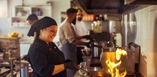 personal de restaurante staff personal masculino y femenino