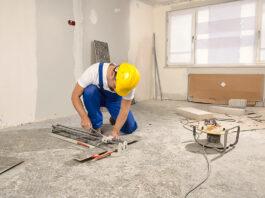 remodelacion de interio personal de construccion construction staff