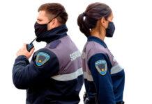 vigilante de seguridad femenino y masculino security guard female and male staf vigilador vihgiladora